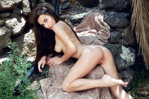 Бесплатные фото Глория Сол,модель,брюнетка,длинные волосы,Красивая,Идеальная девушка,идеальное тело