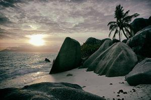 Фото бесплатно природа, океан, сейшельские острова