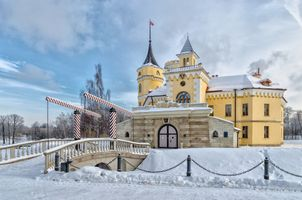 Замок Бип в Павловске 6