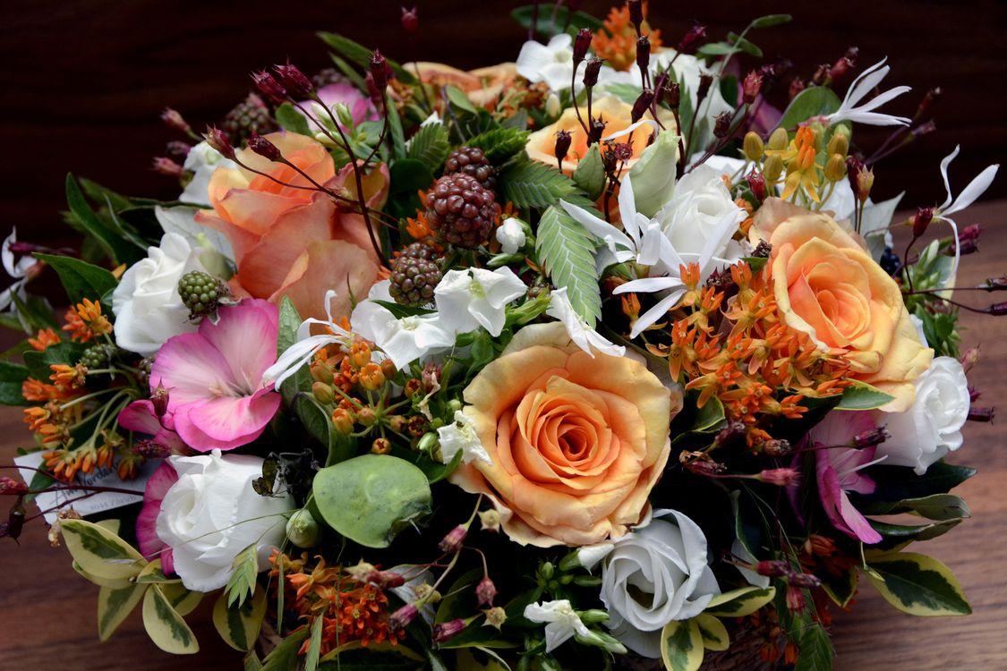 несколько раз, великолепные фото букетов цветов зимним волшебником