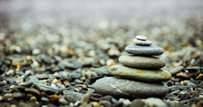 Фото бесплатно природа, песок, камень
