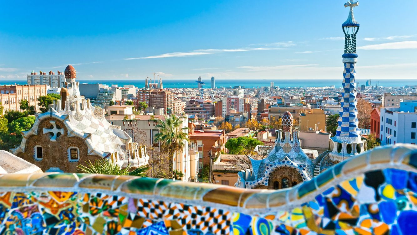 Barcelona, Spain · бесплатная заставка