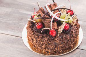 Бесплатные фото торт,шоколадный,крем,украшение