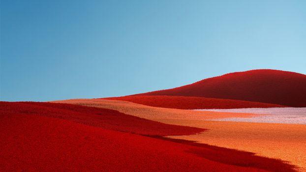 Фото бесплатно пустыни, чистое небо, дюны
