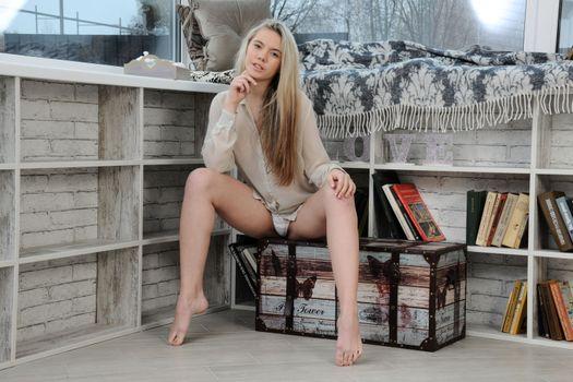 Photo free Eva Jude, beauty, posture