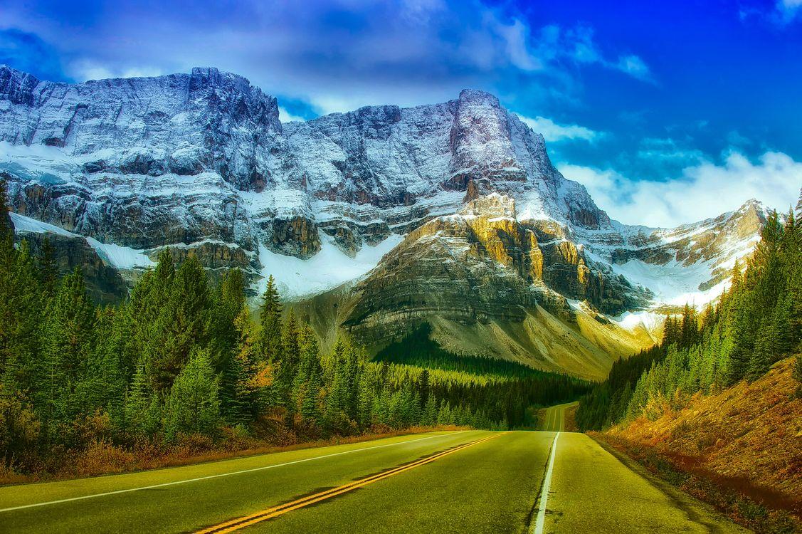 Фото бесплатно банф, канада, национальный парк - на рабочий стол