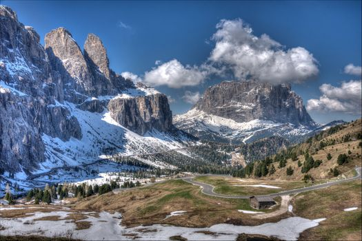 Photo free Italy, Trentino-Alto Adige, ski resort