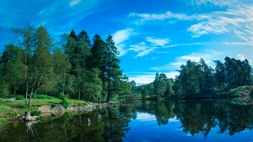 Бесплатные фото South Lakeland District,United Kingdom,озеро,деревья,небо,природа,пейзаж