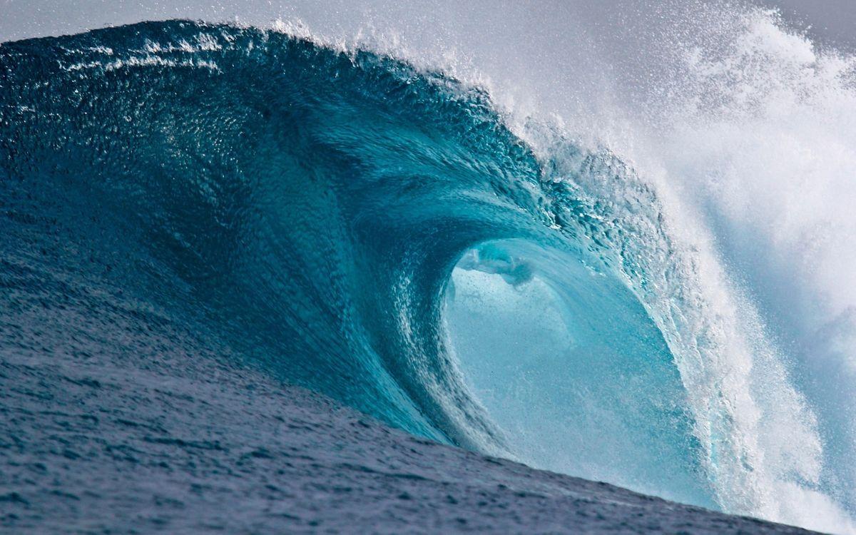 Фото бесплатно волна, океан, стихия - на рабочий стол