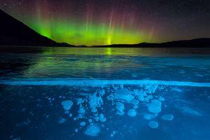 Фото бесплатно Banff National Park, лед, Abraham Lake
