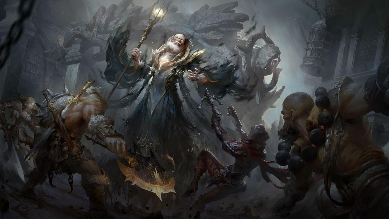 Фото бесплатно Diablo Immortal, 2018 Games, игр - на рабочий стол