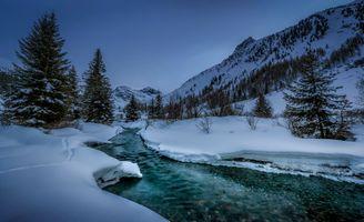 Фото бесплатно Долина Сертиг, Давос, Швейцария