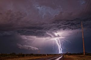 Photo free Monsoon storm, Sierra Vista, AZ