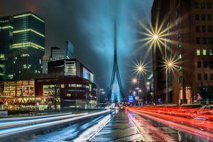 Фото бесплатно дома, ночь, Нидерланды