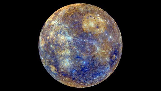 Фото бесплатно космос, планета, ртуть