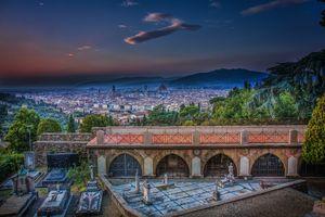 Фото бесплатно Тоскана, Флоренция, Италия, Сан-Миниато аль-Монте