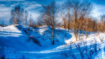 Бесплатные фото зима,снег,холмы,деревья,природа,пейзаж