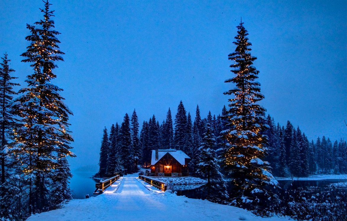 Фото бесплатно озеро, Национальный парк Йохо, Канада - на рабочий стол