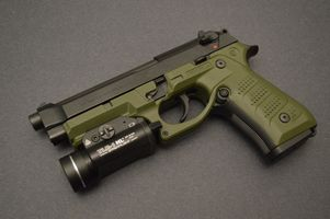Фото бесплатно пистолет, боевой, полиция