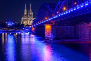 Германия - ночные города · бесплатное фото