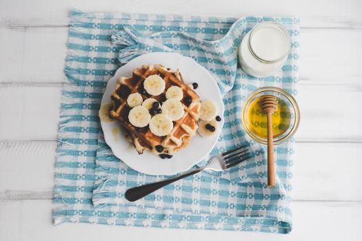 Заставки мед, овсянка, завтрак
