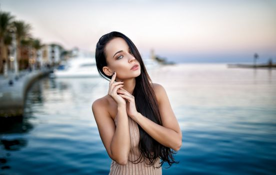 Photo free Angelina Petrova, model, smooth skin