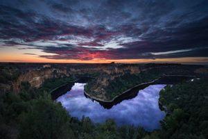 Фото бесплатно sky, canyon, river