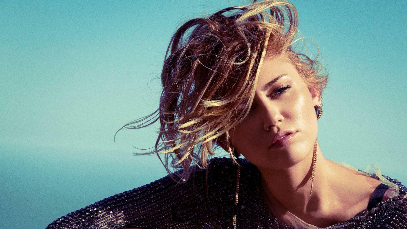 Фото бесплатно Miley Cyrus, знаменитости, девушки - на рабочий стол