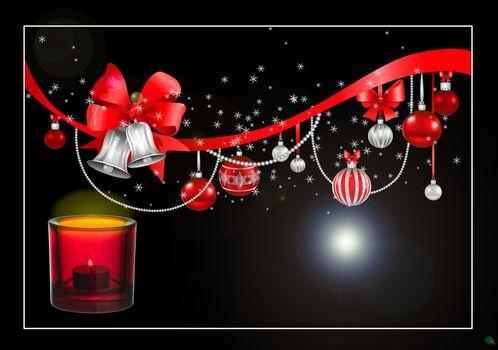 Фото бесплатно свечи, дизайн, рождественские украшения