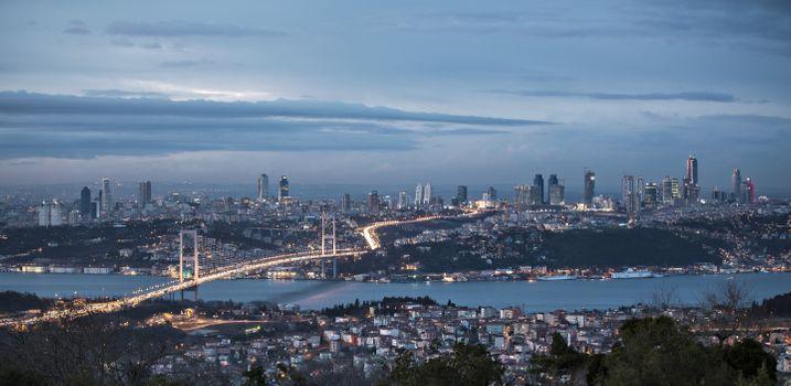 Фото бесплатно Босфор, мост, город