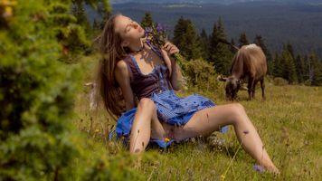 Фото бесплатно Альпы, Сунна, отделанные киска