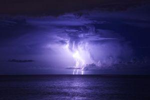 Заставки море, шторм, небо