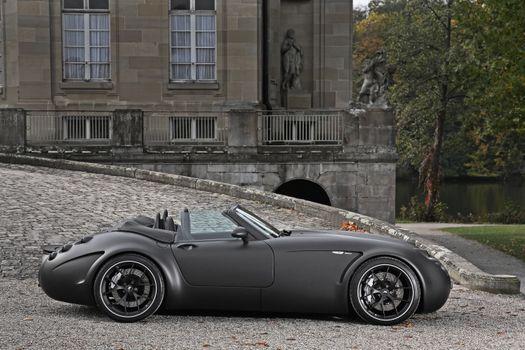 Фото бесплатно Wiesmann GT MF5, Black Bat by SchwabenFolia, 2011 года