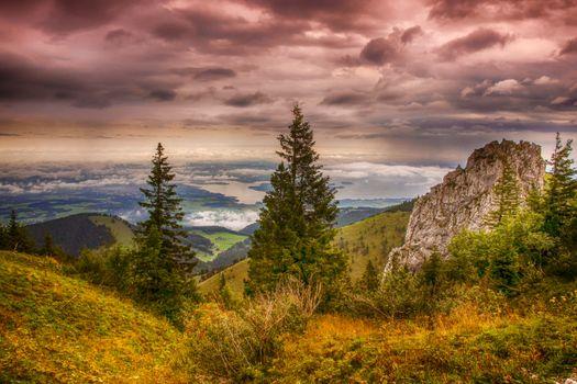 Фото бесплатно chiemsee, бавария, пейзаж