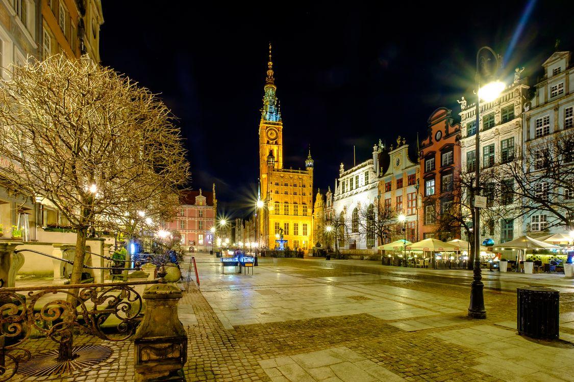 Фото бесплатно ночные города, город, огни - на рабочий стол
