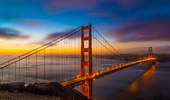 Golden Gate Bridge в San Francisco