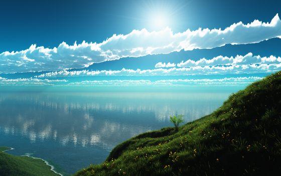 Photo free summer, field, landscape