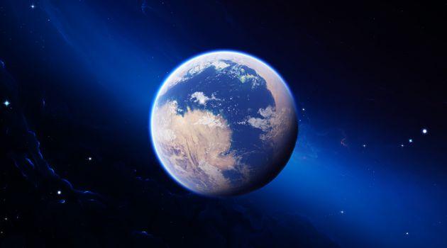 Фото бесплатно планета, космос, суша
