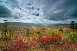 Фото бесплатно Северная Каролина, горы, холмы