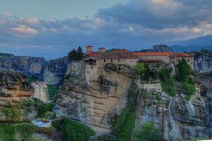 Бесплатные фото Meteora Monasteries, Greece, Монастыри Метеоры, Греция