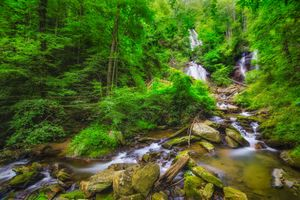 Фото бесплатно Chattahoochee National Forest, near Helen, Georgia