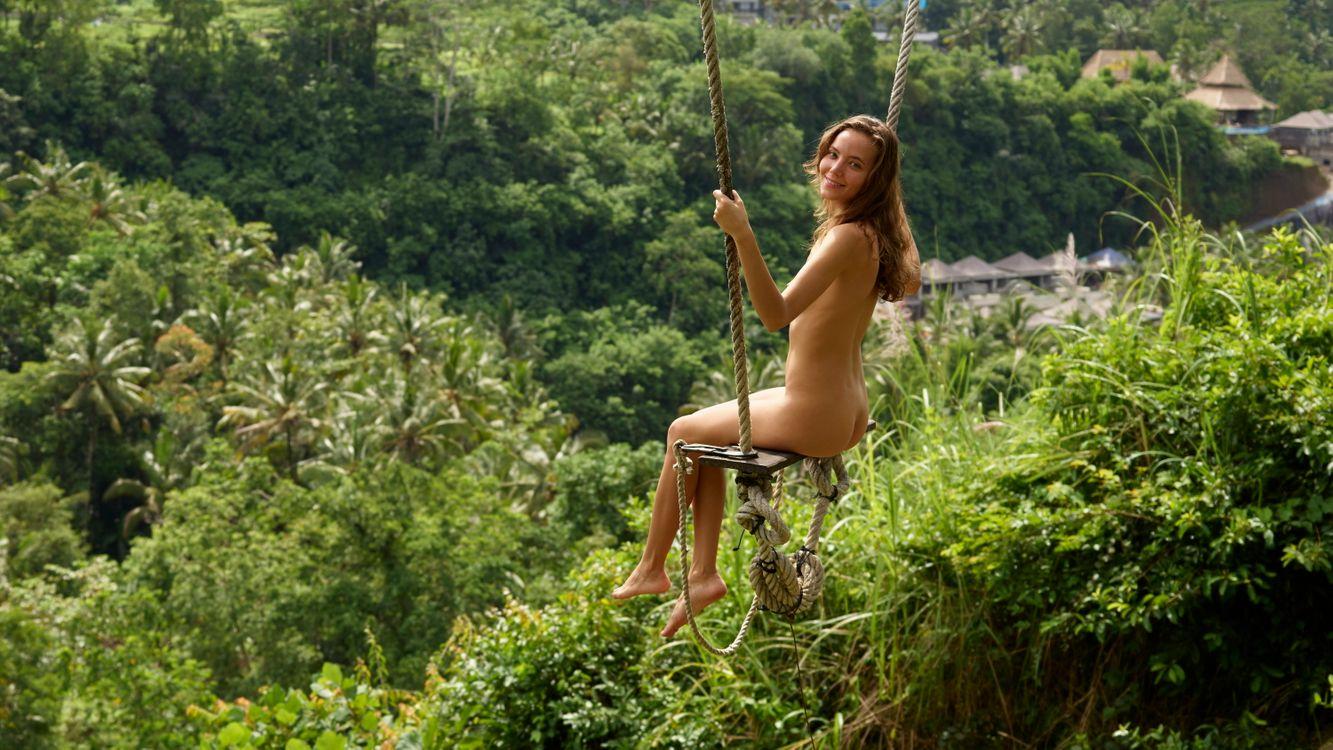 Free photo Clover, Ubud Bali Swing, nude - to desktop