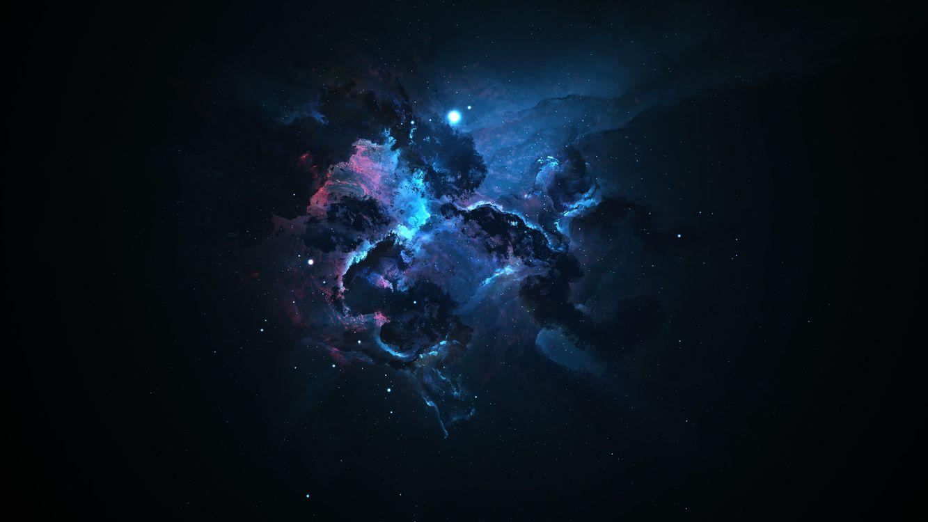 Фото бесплатно космическая пыль, туманность, рождение звезд - на рабочий стол