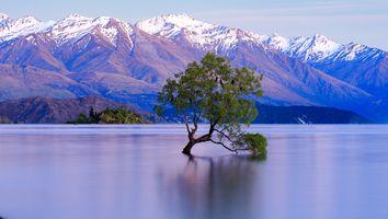 Фото бесплатно пейзаж, гора, восход