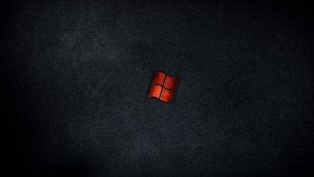 Заставки Windows, темный, металлический