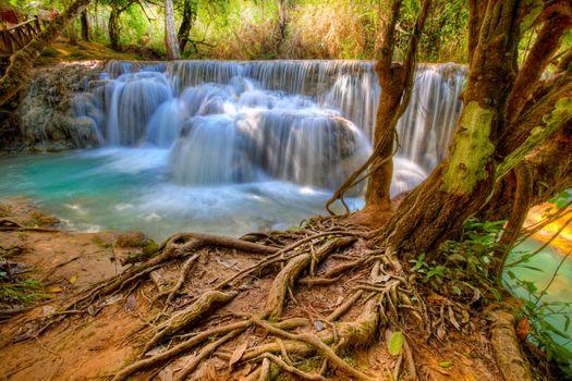 Фото бесплатно Luang Prabang, Laos, водопад