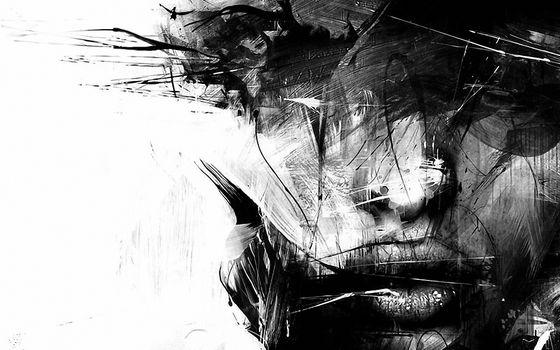 Фото бесплатно искусство, темно, девушка