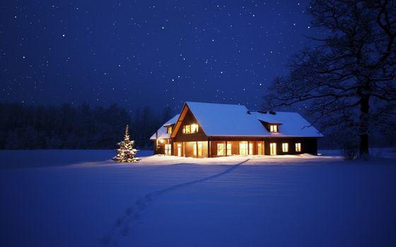 Фото бесплатно Рождество, каникулы, огни