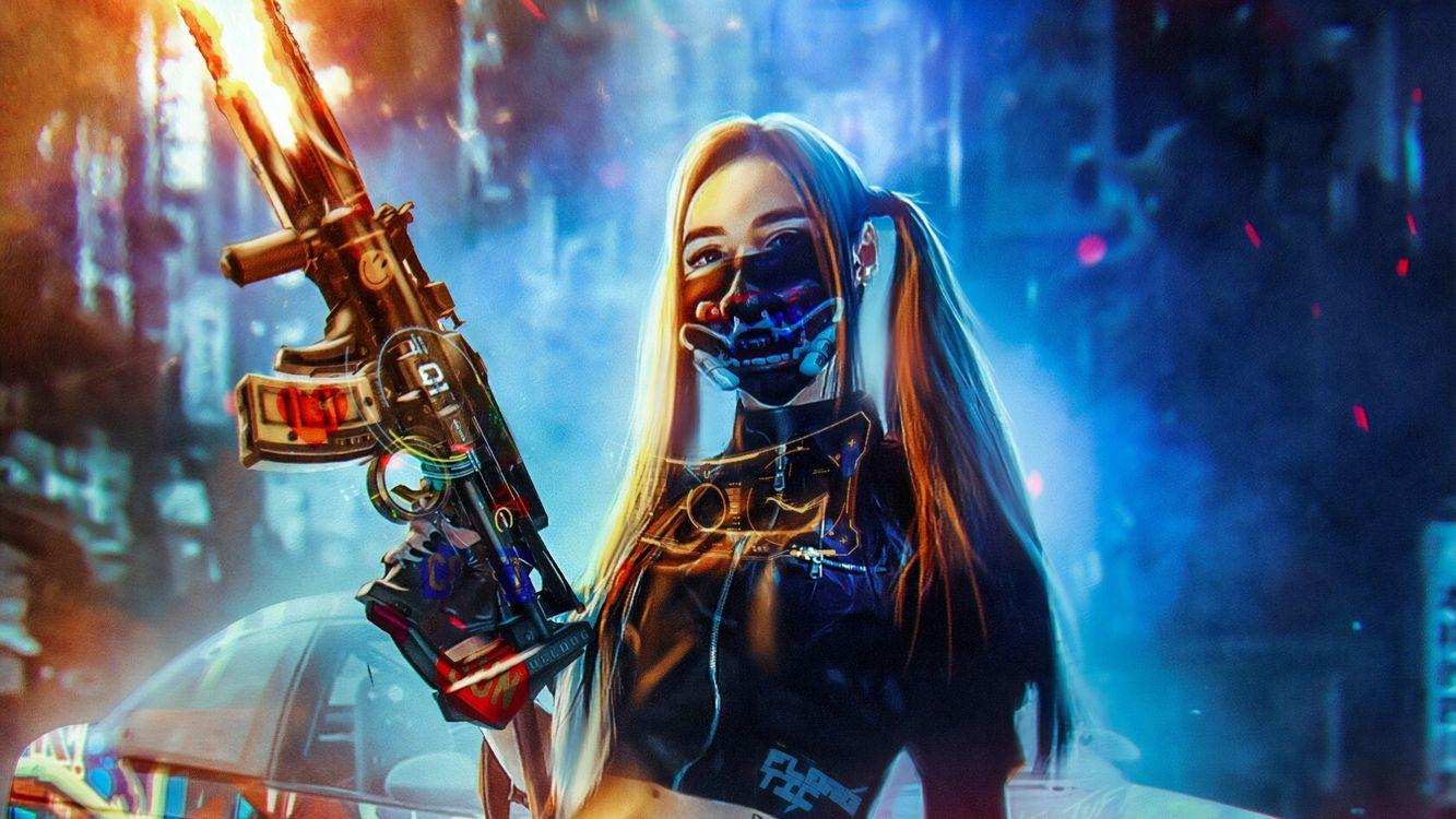 Photos for free Cyberpunk, Artist, Artwork - to the desktop