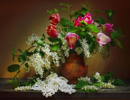 See pictures on the theme of still life, flowers